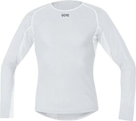 Gore Wear M Gore Windstopper Base Layer Thermo Shirt langarm light grey/white (Herren) (100324-9201)