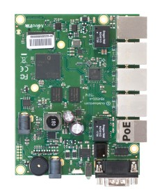 MikroTik RouterBOARD Router (RB450Gx4)