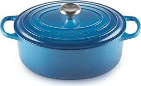 Le Creuset Signature Gusseisen Bräter oval 27cm marseille blau (21178272002430)