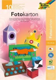 Folia Fotokartonmappe 220x320mm colour sorted, 300g/m², 10 sheets (660)