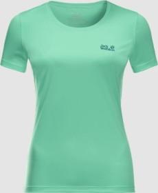 Jack Wolfskin Tech Shirt kurzarm pacific green (Damen) (1807121-4076)