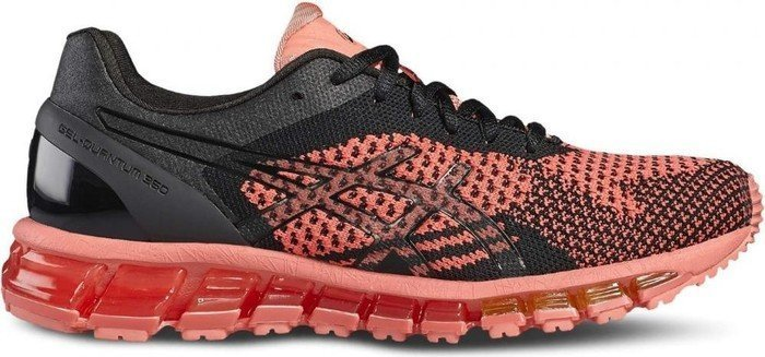 Asics Gel-Quantum 360 Knit peach/black/onyx (Damen) (T778N-7690)