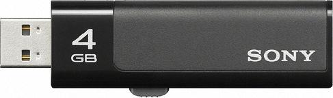 Sony Micro Vault Ultra Black 4GB, USB-A 2.0 (USM4GN)