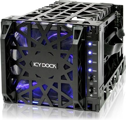 Icy Dock MB074SP-1B Black Vortex