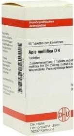 DHU Apis mellifica D4 Tabletten, 80 Stück