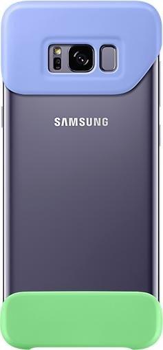 Samsung EF-MG955CV 2Piece Cover for Galaxy S8+ purple/green