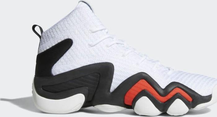 5d37af52f60a5 adidas Crazy 8 Primeknit ADV ftwr white core black hi-res red (men ...