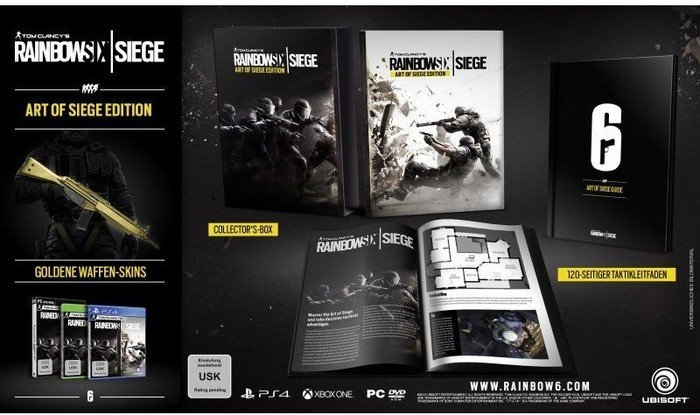 Rainbow Six: Siege - Art of Siege Edition (PC)