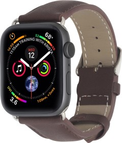 Stilgut Lederarmband für Apple Watch 38mm/40mm taupe (B07MXC4TSQ)