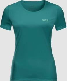 Jack Wolfskin Tech Shirt kurzarm emerald green (Damen) (1807121-4078)