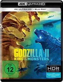 Godzilla II: King of the Monsters (4K Ultra HD)