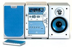 Aiwa XR-MP50 with MP3/CD, tuner, Tape