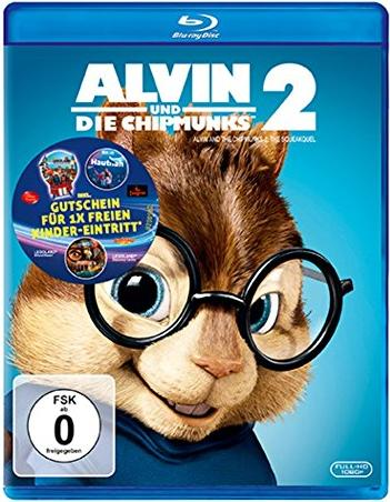 Alvin und die Chipmunks 2 (Blu-ray) -- via Amazon Partnerprogramm