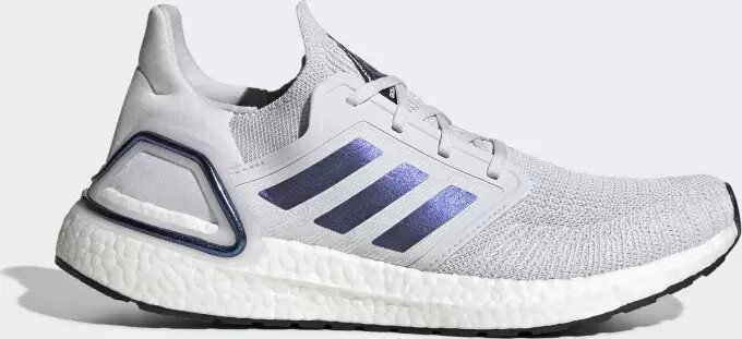 adidas Ultra Boost 20 dash grey/boost blue violet met./core black (men) (EG0695)