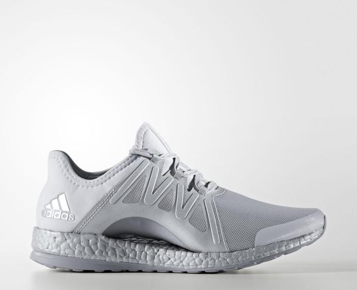 eaf867c97 adidas Pure Boost Xpose clear grey footwear white mid grey (ladies ...