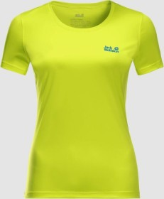 Jack Wolfskin Tech Shirt kurzarm flashing green (Damen) (1807121-4088)