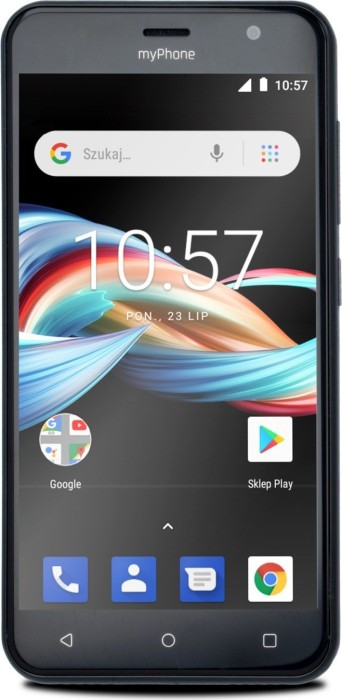 myPhone Fun 6 Lite schwarz
