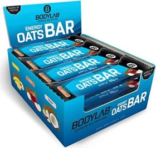 BodyLab24 Energy Oats Bar Apfel/Zimt (12x 50g)