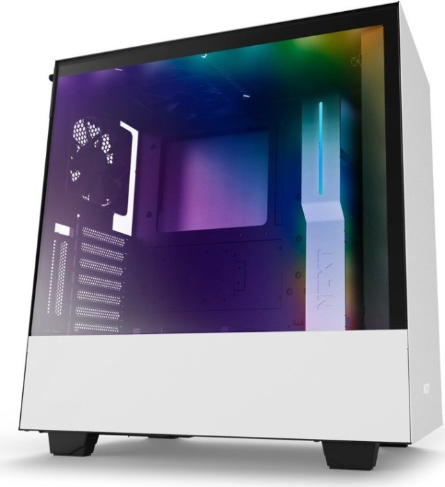NZXT H500i white, glass window (CA-H500W-W1)