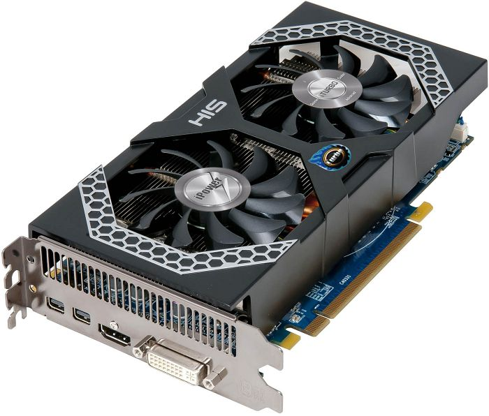 HIS Radeon R9 270 iPower IceQ X² Turbo Boost Clock, 2GB GDDR5, DVI, HDMI, 2x Mini DisplayPort (H270QMT2G2M)