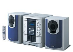 Aiwa NSX-SZ315 mit 3-fach CD, Tuner, Double Tape