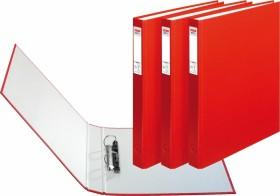 Herlitz maX.file protect Ringhefter A4, 25mm, rot, 3er-Pack (1913805)