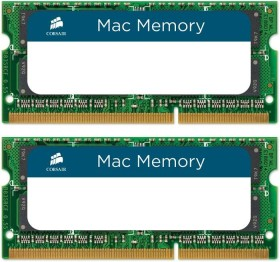 Corsair Mac Memory SO-DIMM kit 16GB, DDR3L-1600, CL11-11-11-30 (CMSA16GX3M2A1600C11)
