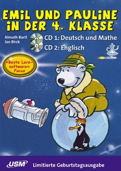United Soft media: Junior: Emil und Pauline in der 4. Klasse - Geburtstagsausgabe (German) (PC+MAC)