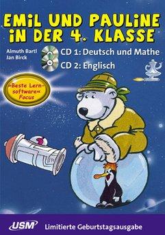United Soft Media: Junior: Emil und Pauline in der 4. Klasa - wydanie urodzinowe (niemiecki) (PC+MAC)