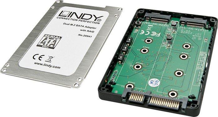 Lindy Dual M.2 SSD RAID case (20941)