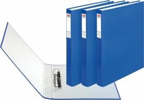 Herlitz maX.file protect Ringhefter A4, 25mm, blau, 3er-Pack (1913813)