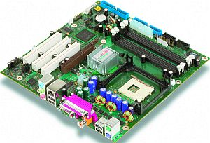 Fujitsu Premium D1683-A, i875P (dual PC-3200 DDR)