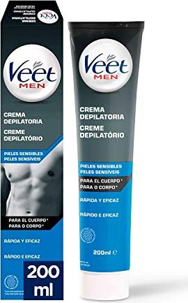Veet For Men Haarentfernungs-Gelcreme 200ml -- via Amazon Partnerprogramm