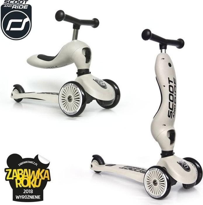 Scoot and Ride Highwaykick 1 ash -- via Amazon Partnerprogramm