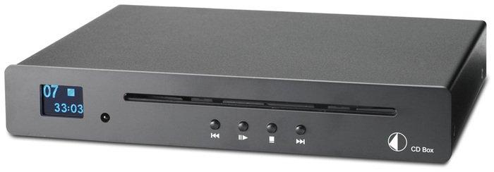Pro-Ject CD Box schwarz