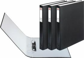 Herlitz maX.file protect Ringhefter A4, 25mm, schwarz, 3er-Pack (1913821)