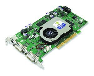 PNY Quadro FX 1100, GeForce 5700, 128MB DDR, 2x DVI, AGP (VCQFX1100-PB)