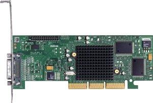 Matrox Millennium G550 Dual DVI, 32MB DDR, LFH60, TV-out, low profile (G55MADDA32DBF)