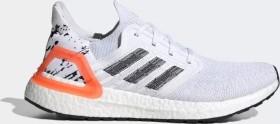 adidas Ultra Boost 20 cloud white/core black/signal coral (Herren) (EG0699)