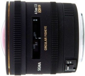 Sigma AF 4.5mm 2.8 EX DC circular fisheye for Pentax K black (486961)