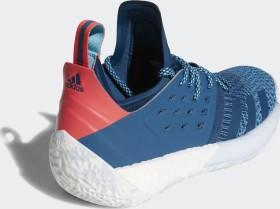 Adidas Harden Vol. 2 Blue NightBright CyanShock Red AH2216