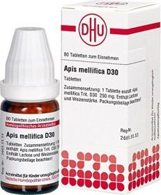 DHU Apis mellifica D30 Tabletten, 80 Stück