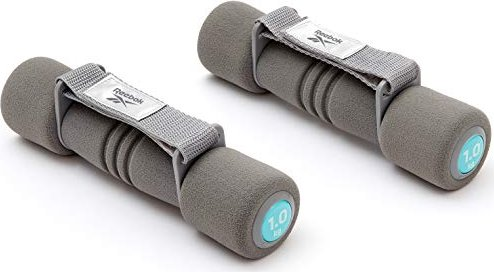 Reebok Soft-Grip Hantel grau 2x 1kg (RAWT-11061BL) -- via Amazon Partnerprogramm