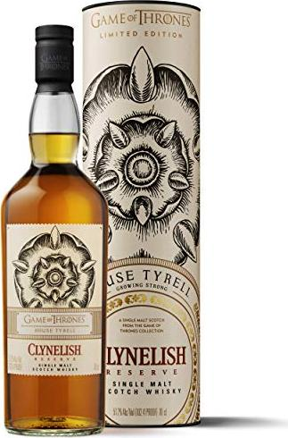 Clynelish House Tyrell Game Of Thrones Limited Edition 700ml Ab 52