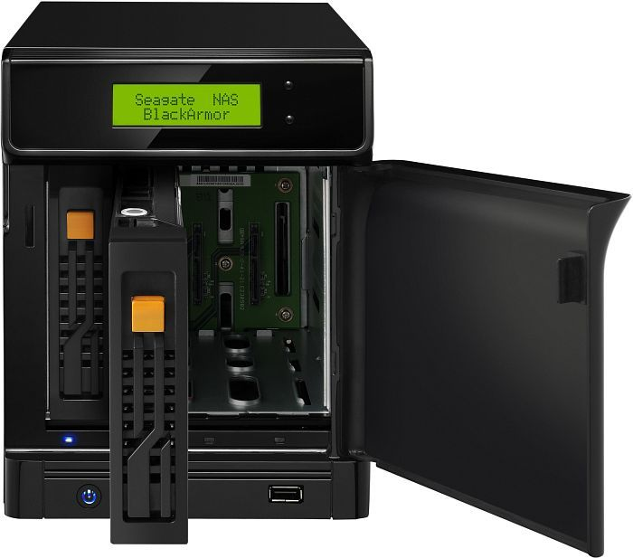 Seagate BlackArmor NAS 400, 2x Gb LAN (STAR400)