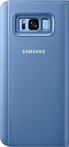 Samsung Clear View Standing Cover für Galaxy S8+ blau (EF-ZG955CLEGWW)