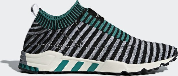 adidas EQT Support SK Primeknit core black grey one sub green (Herren) 01df70db0e