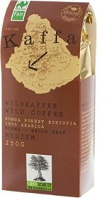 Kaffa Wildkaffee medium Kaffeebohnen, 250g