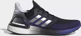 adidas Ultra Boost 20 core black/silver metallic/cloud white (Herren) (FV0033)
