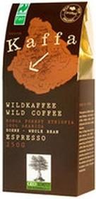 Kaffa Wildkaffee Espresso Kaffeebohnen, 250g